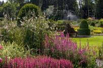 Blickling Hall Garden Norfolk UK July (EAJ009309)