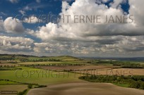 Ivinghoe Beacon from Whipsnade Downs (EAJ010825)