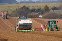 Potato Planting April East Beckham Norfolk UK April (EAJ009230)
