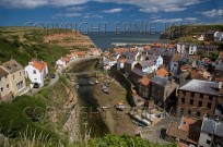Staithes Fishing Village North East Yorkshire UK J (EAJ009979)