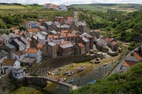 Staithes Fishing Village North East Yorkshire UK J (EAJ009980)