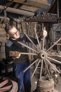 Wheel Wrights Workshop Pitstone Bucks UK (EAJ010356)